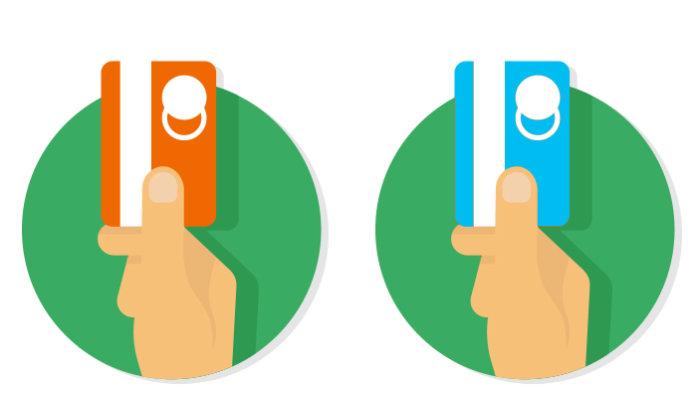 виза или мастеркард - картинка