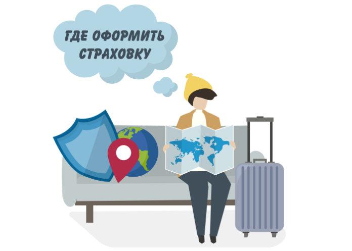 страховка для путешественников - картинка