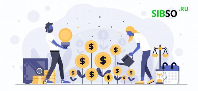 растущие проценты и инвестиции - иллюстрация